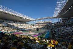 Wereldbeker Brazilië 2014 - Kroatië van Brazilië 3 X 1 Royalty-vrije Stock Afbeelding