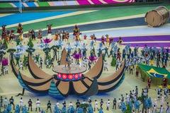 Wereldbeker Brazilië 2014 - Kroatië van Brazilië 3 X 1 Stock Afbeelding