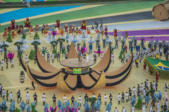 Wereldbeker Brazilië 2014 - Kroatië van Brazilië 3 X 1 Royalty-vrije Stock Foto's
