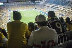 Wereldbeker Brazilië 2014 - Kroatië van Brazilië 3 X 1 Royalty-vrije Stock Fotografie