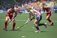 Wereldbekerhockey 2014 - Nederland - Argentinië Royalty-vrije Stock Afbeelding