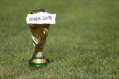Wereldbekertrofee 2018 Royalty-vrije Stock Afbeelding