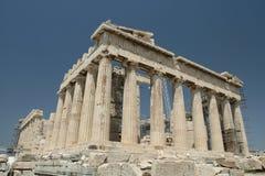 Wereldberoemde Parthenon Royalty-vrije Stock Foto's