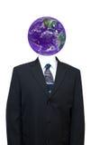Wereldeconomie, de Zaken van de Wereld, die Groen gaat Stock Afbeelding
