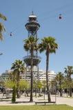 Wereldhandelscentrum in Barcelona Stock Fotografie