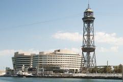 Wereldhandelscentrum in Barcelona Royalty-vrije Stock Afbeeldingen