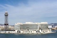 Wereldhandelscentrum in Barcelona Royalty-vrije Stock Foto