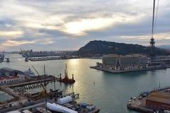 Wereldhandelscentrum Barcelona - Spanje - Europa royalty-vrije stock foto's