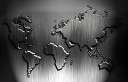 Wereldkaart Stock Afbeeldingen