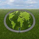 Wereldmarktentoegang Stock Foto