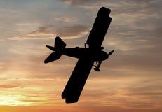 Wereldoorlog Één Eravliegtuigen stock illustratie