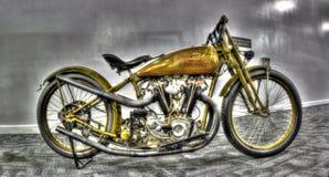 Wereldoorlog 2 era Harley Davidson stock afbeelding