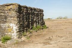 Wereldoorlog 1 graven in Ypres stock afbeeldingen