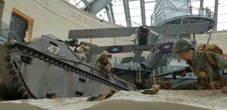 Wereldoorlog II Marine Corps Beach Landing royalty-vrije stock afbeelding