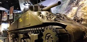 Wereldoorlog II Marine Corps M1 Sherman Tank stock foto