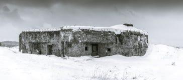 Wereldoorlog IIbunker Stock Foto