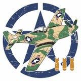 Wereldoorlog IIvliegtuigen Royalty-vrije Stock Foto's
