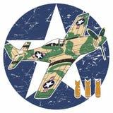 Wereldoorlog IIvliegtuigen - II Royalty-vrije Stock Afbeelding