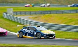 Wereldreeks door Renault Stock Foto