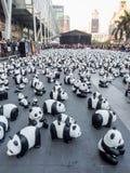Wereldreis 1.600 panda's in Bangkok Stock Afbeeldingen