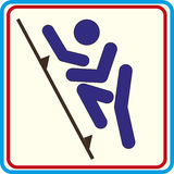 Wereldsport opleiding, pictogram, Illustraties Stock Foto