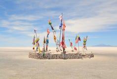 Wereldvlaggen Stock Foto's