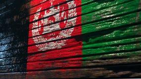 Wereldvlaggen op boom stock illustratie