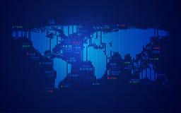 Wereldvoorraad stock illustratie