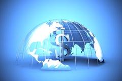 Wereldwijde handel Stock Foto