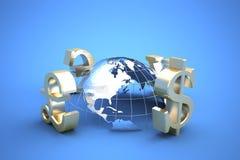 Wereldwijde handel Royalty-vrije Stock Foto