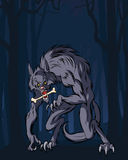 Werewolf royalty illustrazione gratis