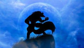 werewolf Royalty-vrije Stock Fotografie