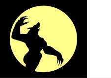 werewolf stock de ilustración