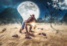 werewolf Στοκ εικόνες με δικαίωμα ελεύθερης χρήσης