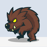 Werewolf cartoon Royalty Free Stock Photo
