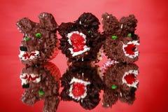 Werewolf cupcakes Stock Photo