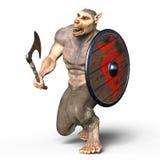 Werewolf. 3D CG rendering of a werewolf Royalty Free Stock Photos