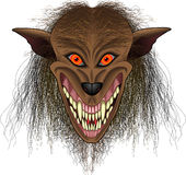 Werewolf_face Royalty Free Stock Photo