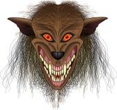 Werewolf_face Fotografia Stock Libera da Diritti