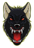 Werewolf head Stock Images
