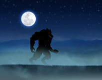 Werewolf Royalty Free Stock Photo