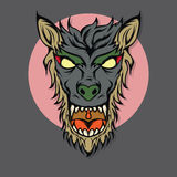 Werewolf Illustration Stock Image