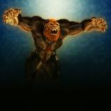 Werewolf jump Stock Photos