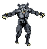 Werewolf mascot Stock Photography