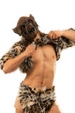 Werewolf spaventoso di ringhio immagini stock libere da diritti