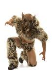 Werewolf spaventoso di ringhio fotografia stock