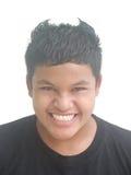 Werewolf. Thai teen boy action like werewolf Stock Photo