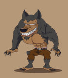 Werewolf. Vector illustration Stock Photography