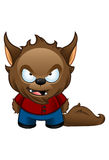 Werewolfmonster - Bad Royaltyfri Bild