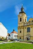 Werf van de Kerk Royalty-vrije Stock Afbeeldingen